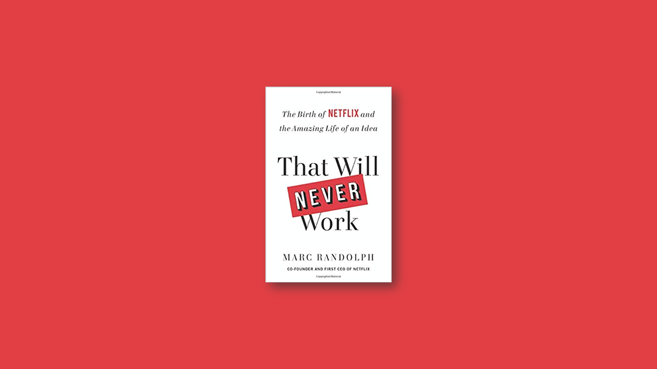 Summary: That Will Never Work by Marc Rudolph