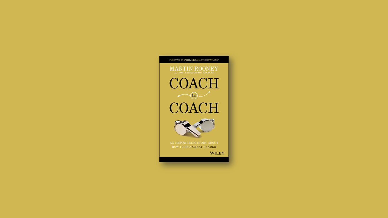 Summary: Coach to Coach by Martin Rooney