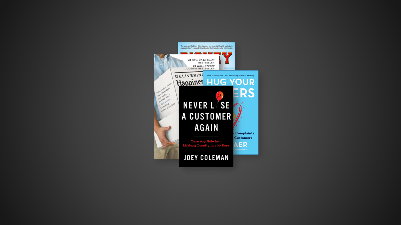 7 Great Books on Customer Experience