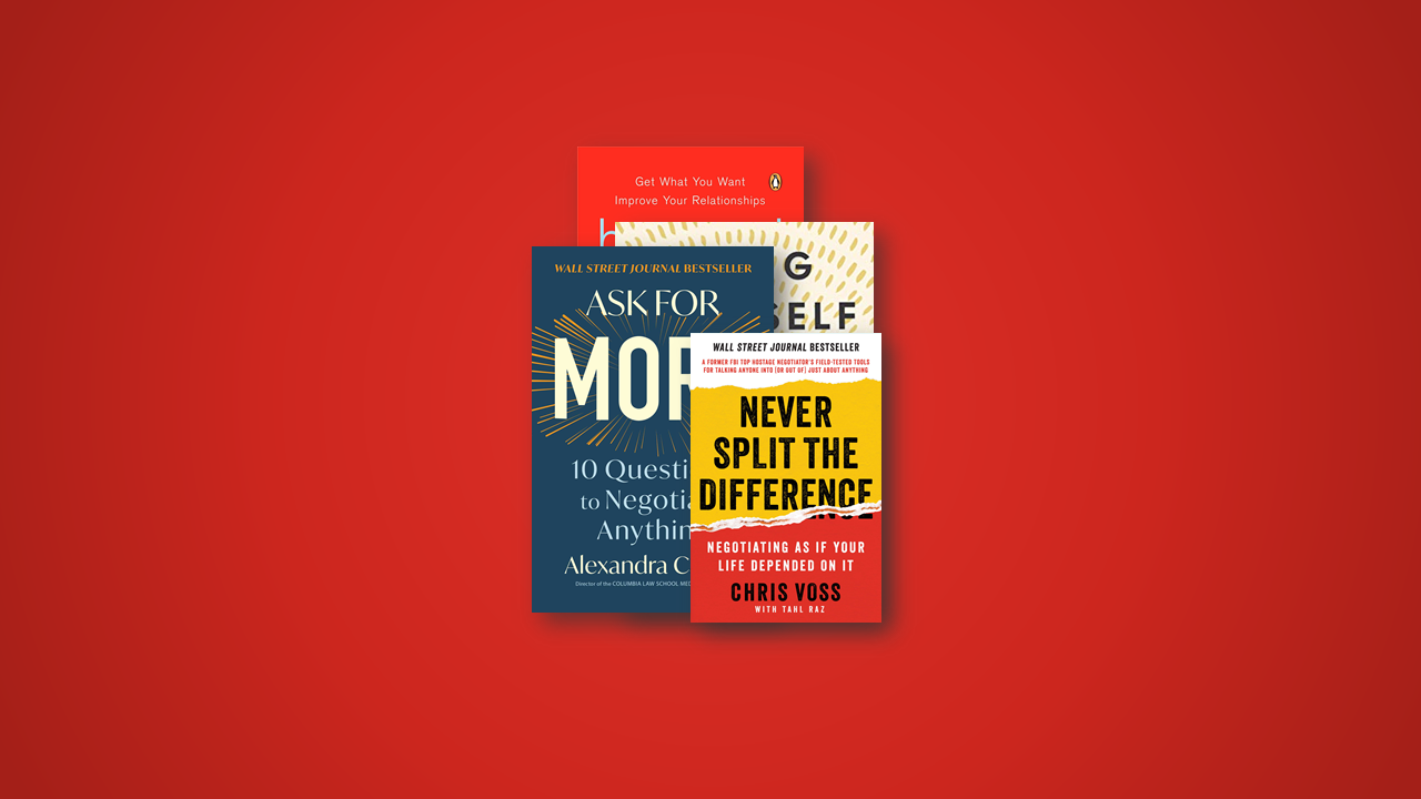 4 Great Books on Negotiation