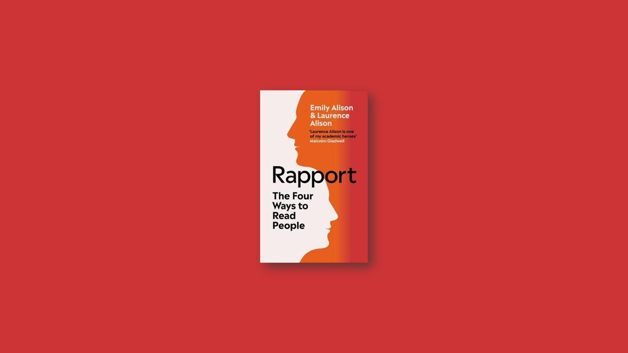 Summary: Rapport By Emily Alison, Laurence Alison
