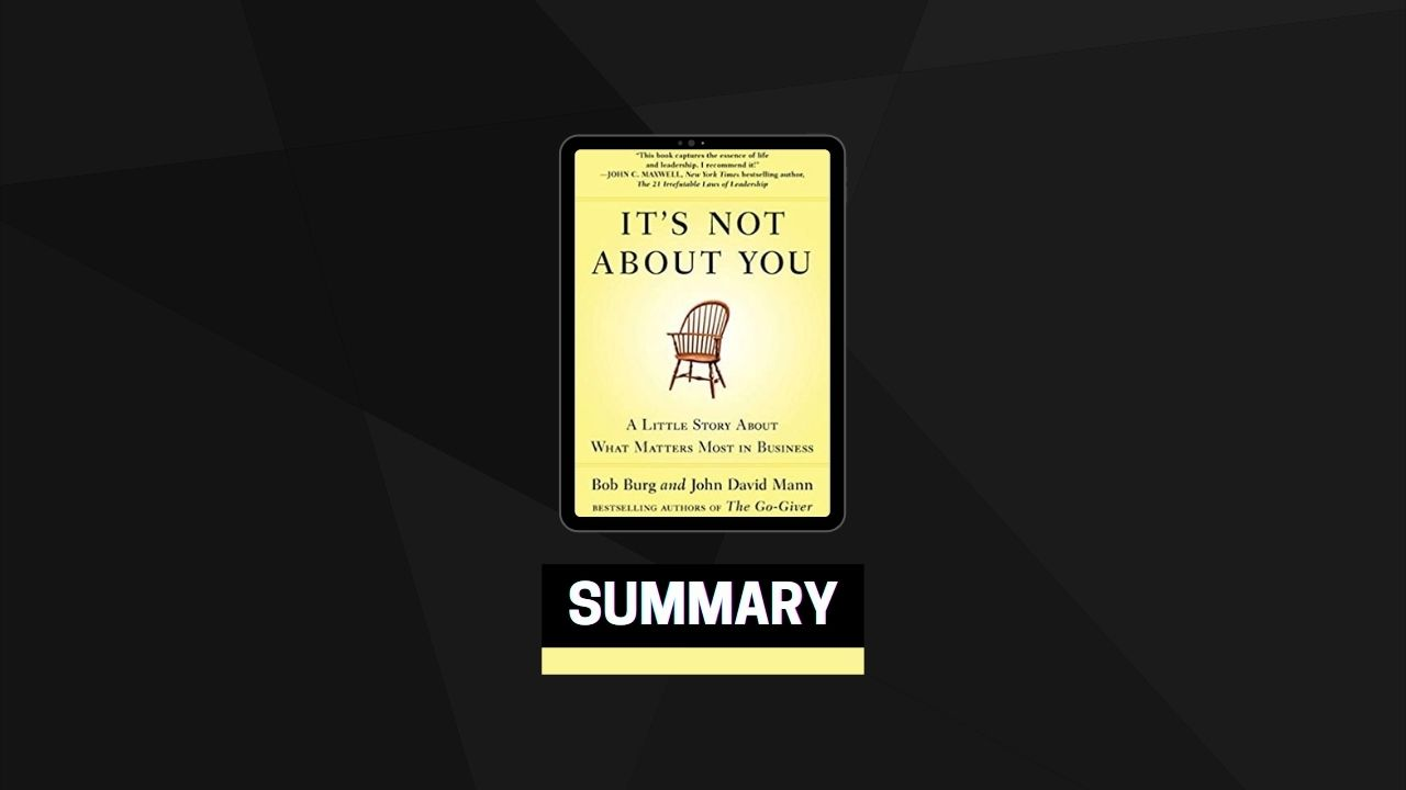 Summary: It's Not About You By Bog Burg