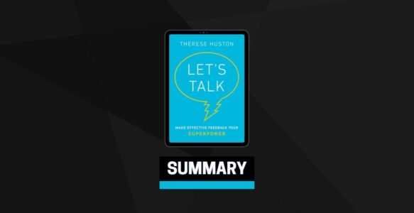 Summary: Let's Talk By Therese Huston