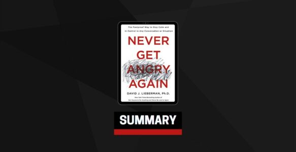 Summary: Never Get Angry Again By David J. Lieberman