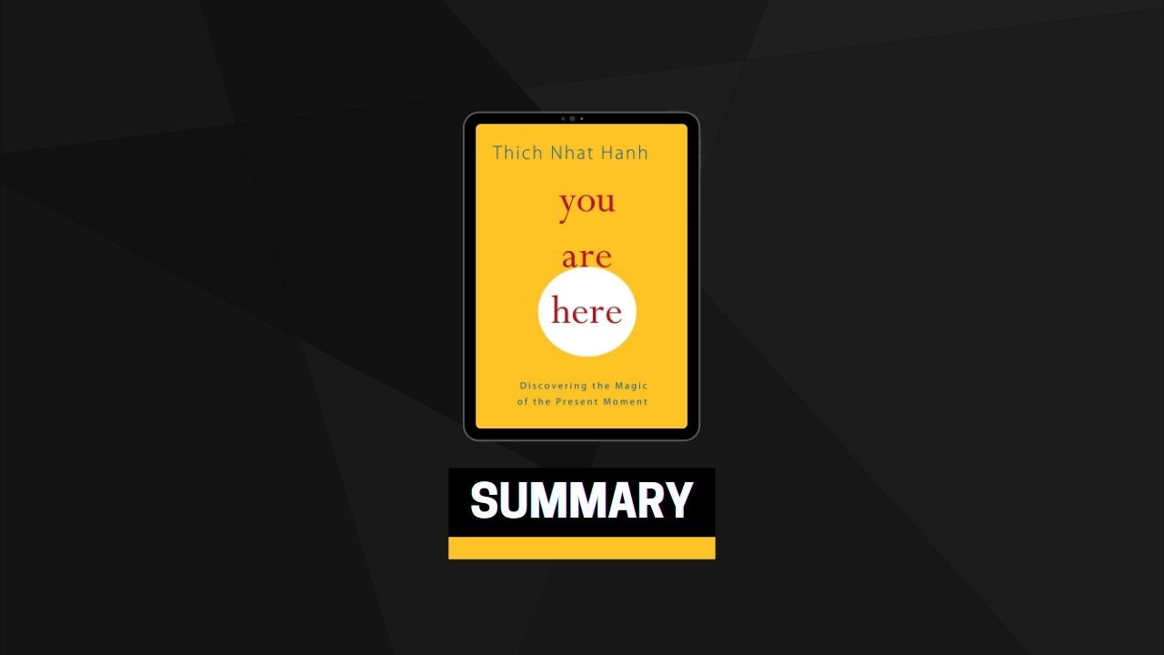 Summary: You Are Here By Thich Nhat Hanh